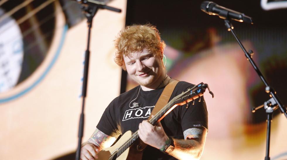 Ed Sheeran en el Perú. (Foto: Instagram)
