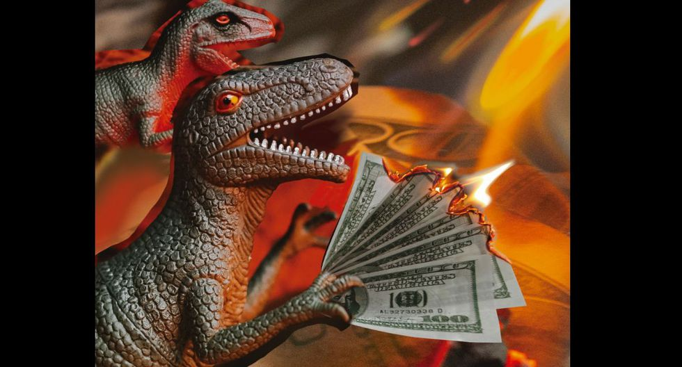 'Los dinosaurios van a desaparecer', la columna de Renato Cisneros. (Ilustración: Nadia Santos)