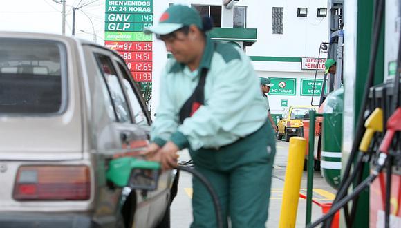 El precio de la gasolina se incrementó 6,3% en setiembre. (Foto: El Comercio)