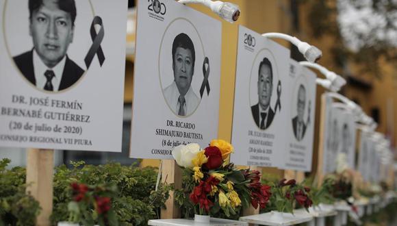 El número de médicos muertos alcanza los 400. (Foto: El Comercio)