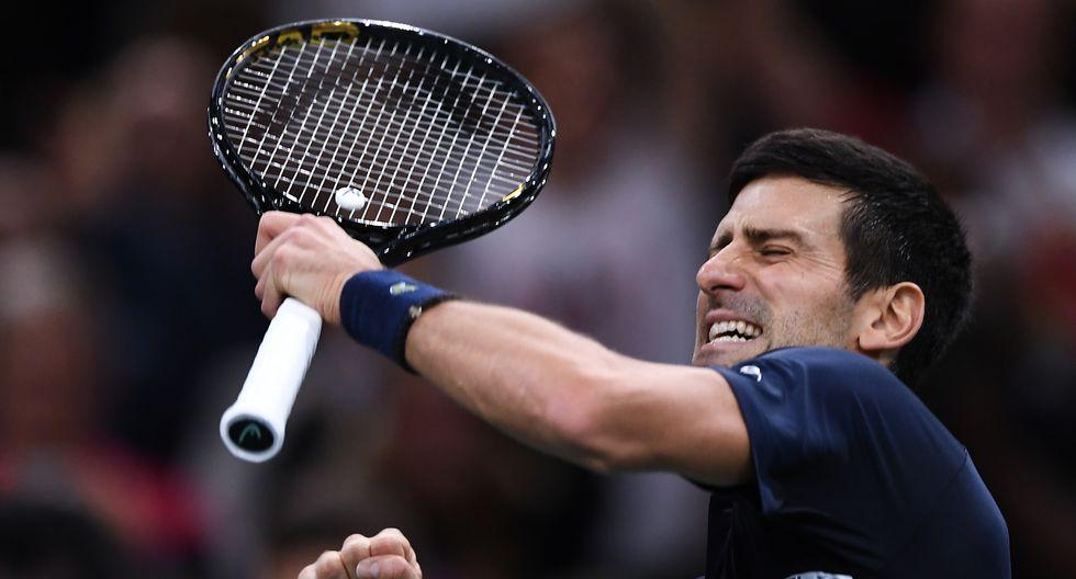 Djokovic arrasó a Shapovalov (6-3 y 6-4) y logra su 34º título de Masters 1000. (Foto: AFP)