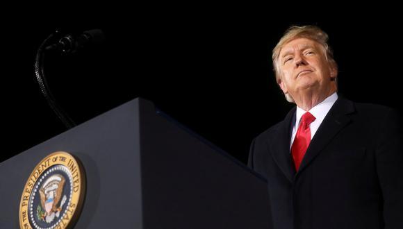 El expresidente Donald Trump. REUTERS