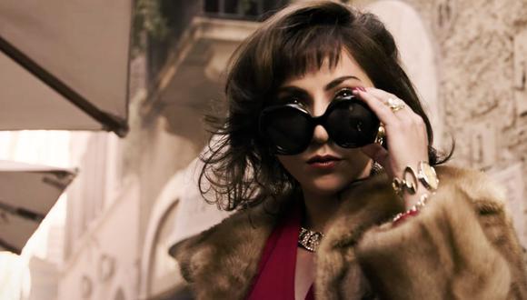 Lady Gaga como Patrizia Reggiani en la película 'House of Gucci'. (Foto: Captura Youtube)