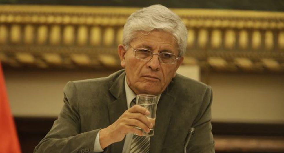 """""""El congresista Heresi va a definir su situación. Él también podría renuncia al partido y continuar con nosotros"""", comentó Jorge Castro. (Foto: Archivo El Comercio)"""