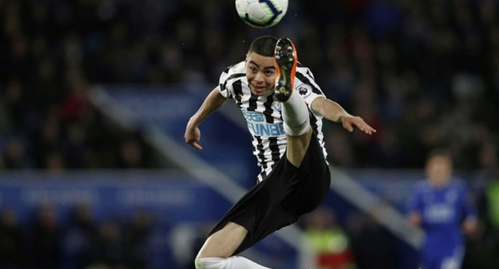Miguel Almirón   Newcastle United. (Foto: Agencias)