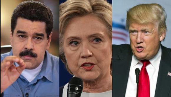 ¿Qué opina Nicolás Maduro sobre Hillary Clinton y Donald Trump?