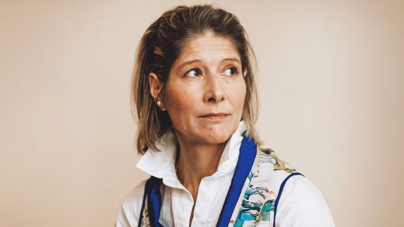 Julie afirma que la culpa y la vergüenza se transformaron en responsabilidad. (KAJSA GÖRANSSON).