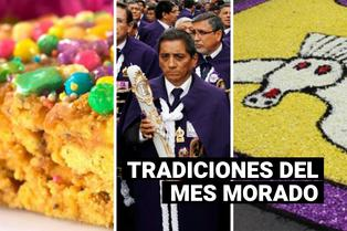 Costumbres del Mes Morado: ¿Qué platillos y tradiciones acompañan al Señor de los Milagros?