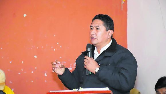 Vladimir Cerrón fue sentenciado en el 2019 a cuatro años de prisión suspendida y un año de inhabilitación. (Facebook: Perú Libre)