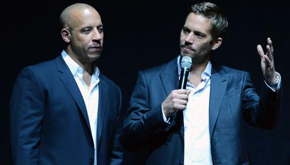 Vin Diesel publicó carta a Paul Walker. (Foto: AFP)