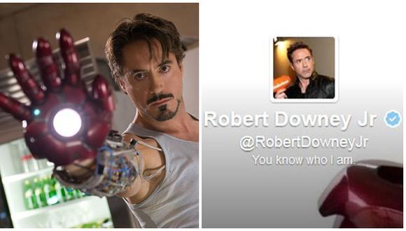 Robert Downey Jr. causa furor tras abrir su cuenta en Twitter