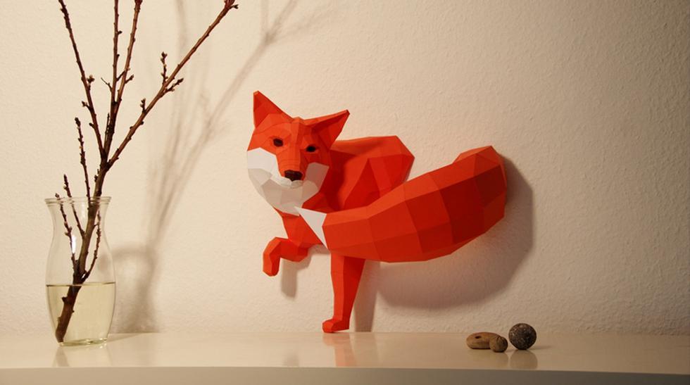 Prueba tu habilidad con estos diseños inspirados en el origami  - 1