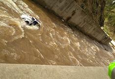 Huancavelica: vehículo cae al río Ichu y hallan el cuerpo de uno de los pasajeros