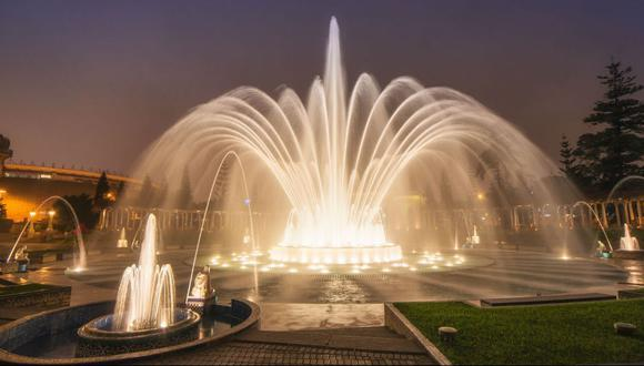 La Municipalidad de Lima informó que el Circuito Mágico del Agua atenderá al público este viernes 1 de enero | Foto: GEC