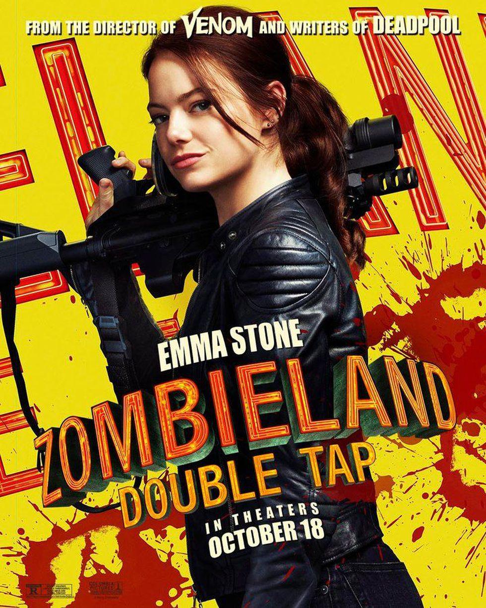 "Emma Stone es Wichita en ""Zombieland"" (Foto: Sony Pictures)"