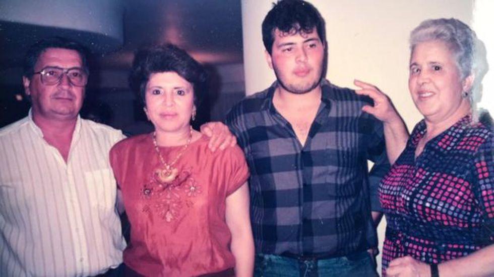 Esta foto fue tomada cinco meses después de la masacre. Camilo había dejado la universidad y estaba replanteando su vida.
