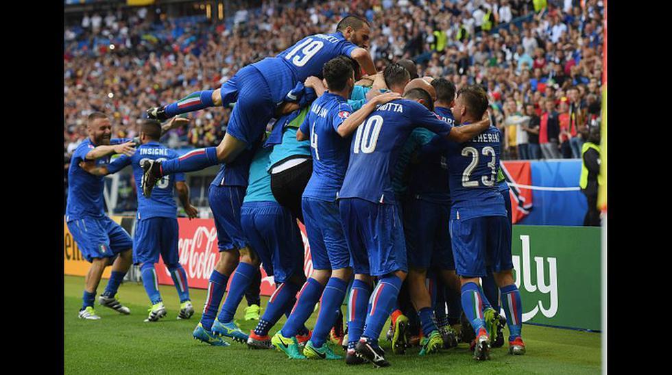 Italia y toda la felicidad al cobrarse la revancha ante España - 14