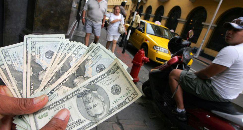 Este es el precio del dólar en el mercado peruano. (Foto: GEC)