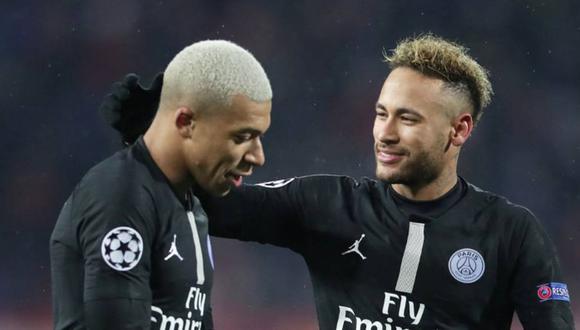 PSG le pone precio a Neymar, pero no dejará ir a Mbappé en el próximo mercado. (Foto: Agencias)