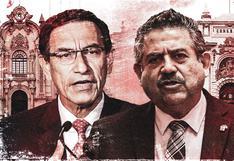 Martín Vizcarra y Manuel Merino se reúnen en Palacio: los momentos de una relación de tensión