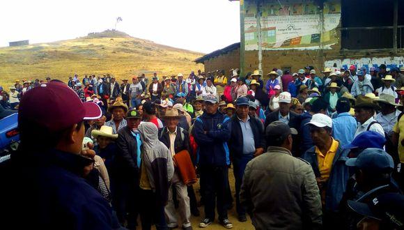 La Libertad: convocan a movilización contra proyecto minero en Otuzco