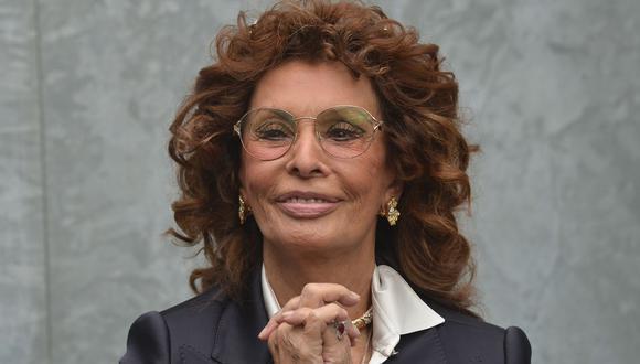"""Sophia Loren y su regreso con alma familiar en """"La vida por delante"""" de Netflix. (Foto: AFP/Tiziana Fabi)"""