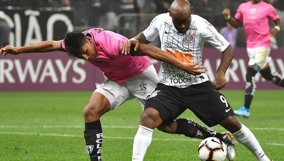Independiente del Valle y Corinthians jugarán este miércoles 25 de septiembre la semifinal de vuelta de la Copa Sudamericana 2019 | Foto: AFP