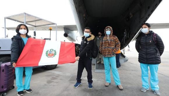 Moquegua: EsSalud envía brigada médica de 30 profesionales para fortalecer ateción de pacientes COVID-19 en la región. (Foto EsSalud)