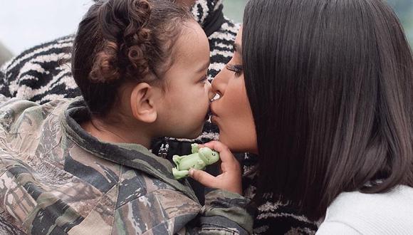 Chicago West es la primera hija que Kim Kardashian tuvo mediante la modalidad de vientre subrogado (Foto: Instagram)