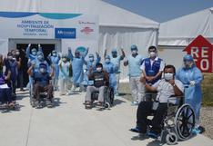 Coronavirus en Perú: 882.600 pacientes se recuperaron y fueron dados de alta