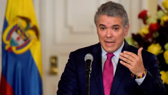 Desde su llegada al poder en agosto del 2018, Iván Duque ha enfrentado el descontento paulatino en las calles por sus propuestas económicas, la política de seguridad, además de su intento de modificar el pacto con las FARC. (Foto: AFP)