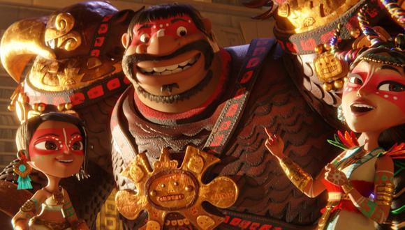 "Netflix y Jorge R. Gutiérrez presentan adelanto de ""Maya and the Three"". (Foto: Netflix)"