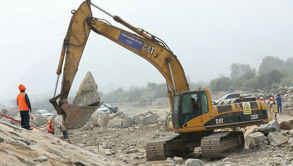 Aún no han iniciado los trabajos de descolmatación de los ríos Rímac, Chillón y Lurín (Foto: difusión)