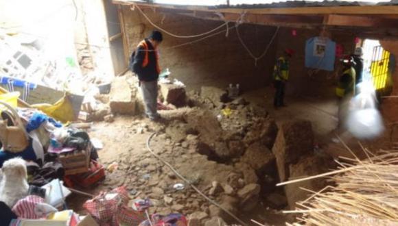Huancavelica: deslizamiento de rocas sepulta a madre de familia