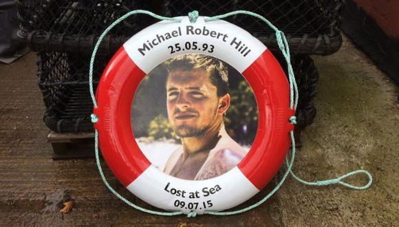 Desde pequeño, Michael Hill sabía que quería ser pescador.