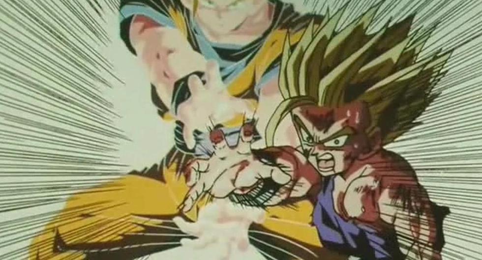 El Kame Hame Ha de padre e hijo es una de las escenas más recordadas de Dragon Ball Z. (Toei Animation)