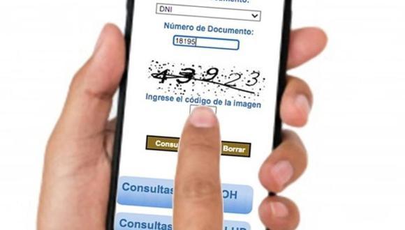 Ya puedes consultar en línea si te encuentras afiliado al SIS con solo indicar tu número de DNI   Foto: SIS / Referencial