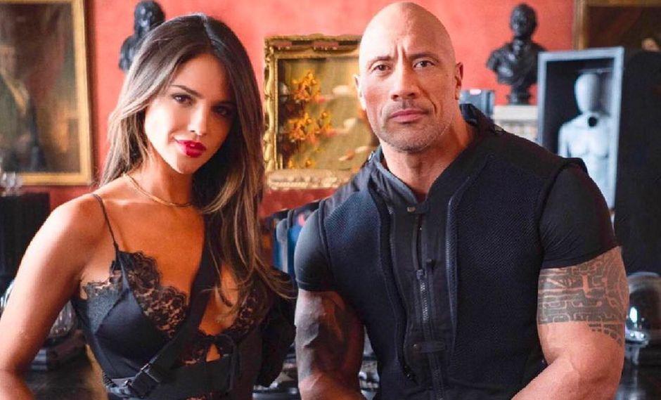 La actriz mexicana y el actor estadounidense comparten roles en el primer spin off de Rápidos y Furiosos. (Foto: @eizagonzalez)