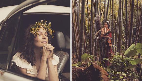 """En redes sociales, Natalia Lafourcade señaló que """"Un canto por México"""" es un disco lleno de amor. (@natalialafourcade)."""