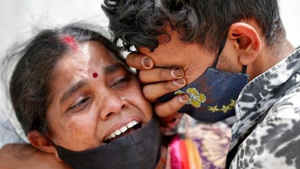 India ha superado los 19,7 millones de casos y se mantiene a la cabeza de los contagios en términos absolutos, solo por detrás de Estados Unidos. (Reuters).