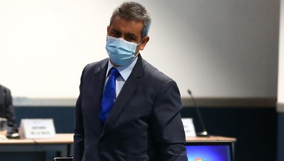 Fiscal supremo Tomás Gálvez fue suspendido por la Junta Nacional de Justicia. (Foto: GEC)