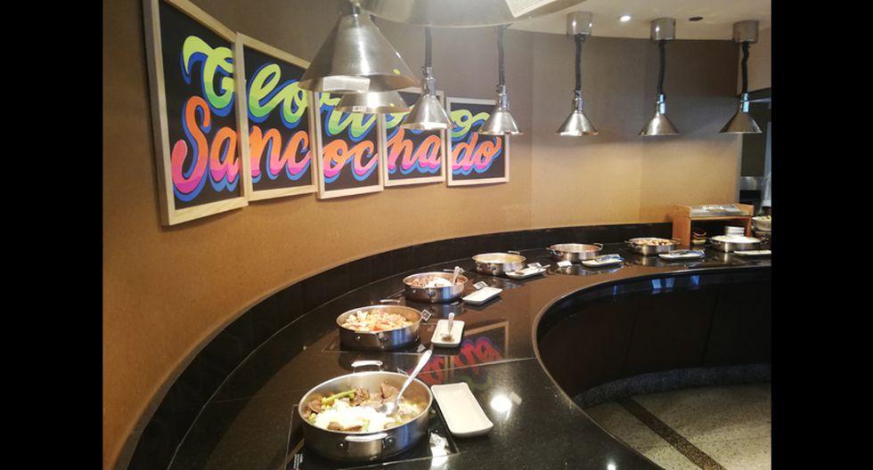 El plato es contundente, pero aquellos que deseen más pueden probar los distintos platos que ofrece el buffet del JW Marriott.
