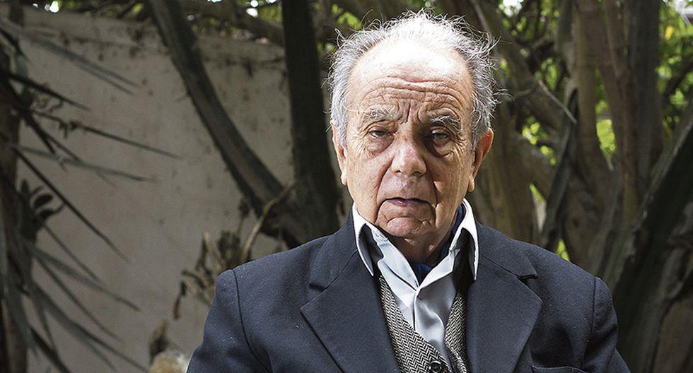 Pablo Macera ( 1929-2020 ) dedicó su vida a la investigación de la historia andina, amazónica y peruana. (Foto: Paola Flores / El Comercio)