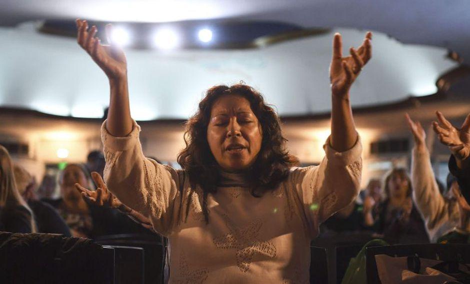 El nuevo peso político de los evangélicos en Latinoamérica reflejado en las elecciones. (AFP)