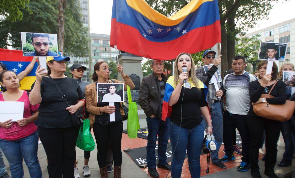"""""""Estamos totalmente de acuerdo con la moción para declarar persona no grata a Maduro"""", señaló Paulina Facchín (Foto: Archivo El Comercio)"""