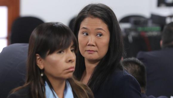 """Giulliana Loza precisó que la decisión judicial """"responde al cuestionamiento de fondo de la decisión que ordenó la segunda prisión preventiva en contra de Keiko"""". (Foto: GEC)"""