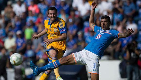 Tigres goleó 3-0 a Cruz Azul por última fecha de Liga MX