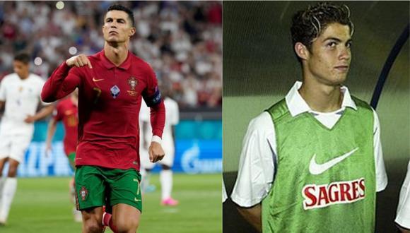 Cristiano Ronaldo lleva cinco goles en la Eurocopa 2021. Es el goleador del torneo.