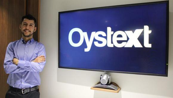 Alexander Langle CEO y fundador de Oystext. (Foto: Oystext)