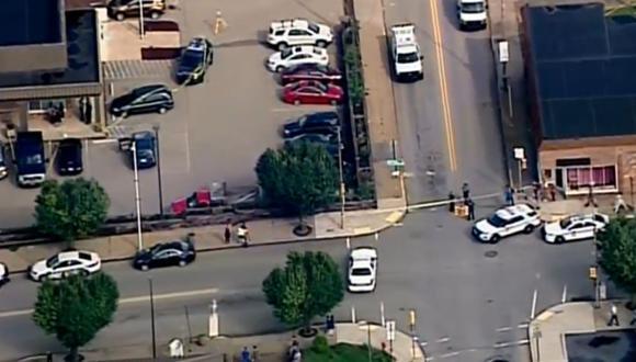 EN VIVO |  Reportan tiroteo en corte de Pensilvania que deja un muerto y 4 heridos. (Foto: Captura)